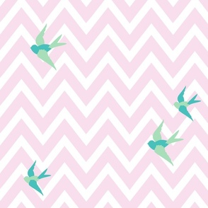 Seaside Love - Chevron