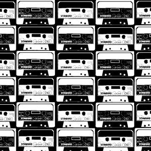 Cassettes black & white