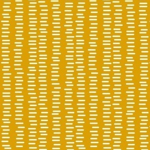 Running Stitch | Mustard Yellow