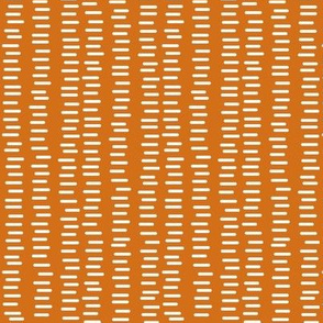 Running Stitch | Pumpkin Orange