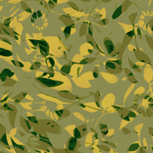 Windswept Camo in Taupe Green Ochre