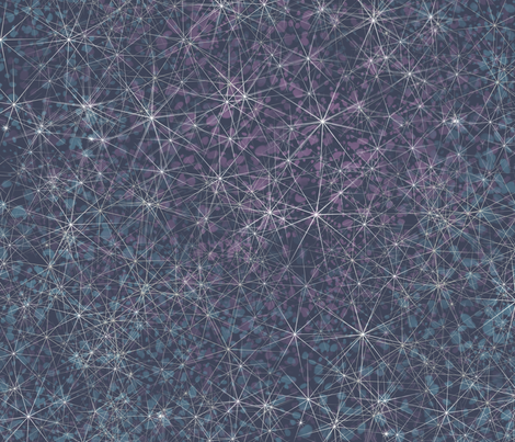 constelation fabric by ilustraio on Spoonflower - custom fabric