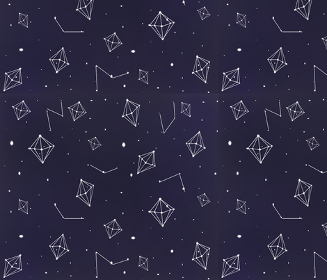 Diamonds In the Sky fabric by dihearts on Spoonflower - custom fabric
