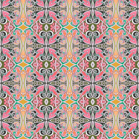 Flutterbye Tendril Fly fabric by edsel2084 on Spoonflower - custom fabric