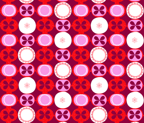 mod pies fabric by ottomanbrim on Spoonflower - custom fabric