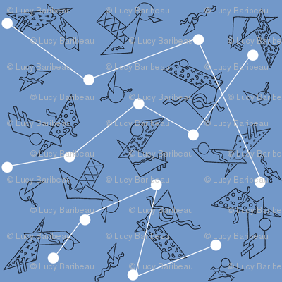 Constellations and strange satellites