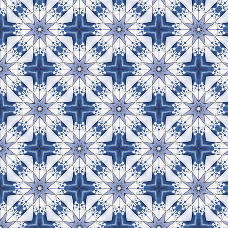 Libero's Winterstar fabric by siya on Spoonflower - custom fabric