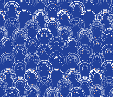 Constellar Swirls fabric by dahbeedo on Spoonflower - custom fabric