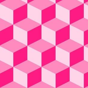 Pink baby block