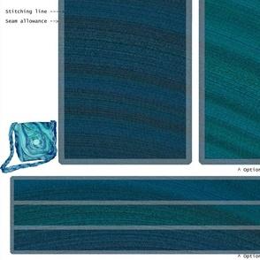 DIY Handbag - Ocean Wave