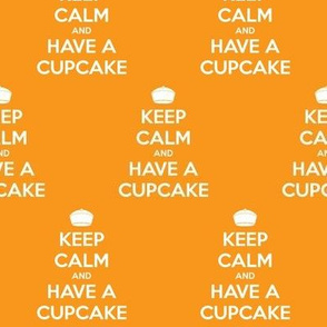 Keep Calm Have a Cupcake - solid
