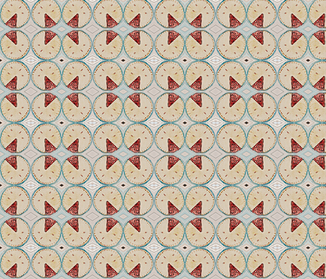 Slice of the pie of life fabric by fantastic_foray on Spoonflower - custom fabric