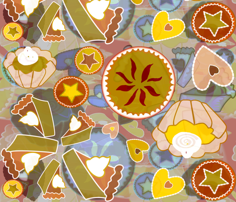 little_hearts fabric by preeta on Spoonflower - custom fabric