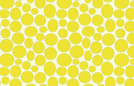 Sunny Bubbles fabric by littlerhodydesign on Spoonflower - custom fabric