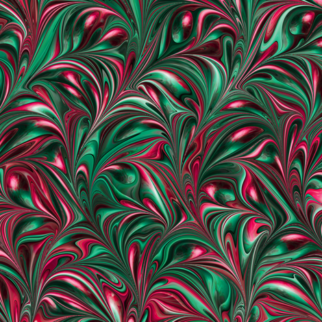 FM063-Swirl fabric by modernmarbling on Spoonflower - custom fabric