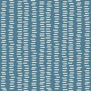 Running Stitch | Hydrangea Blue