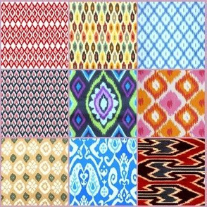 Ikat Collage