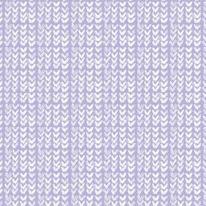 Hand Knit - 37 Lilac reverse