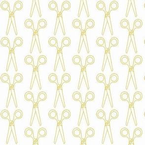Scissors Mini | Mustard
