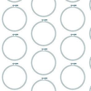 Hoop Mini | Hydrangea