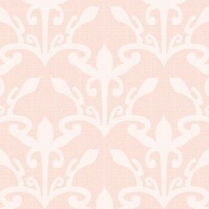 lace cutout shell damask