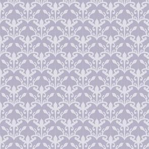 lace cutout amethyst myst damask