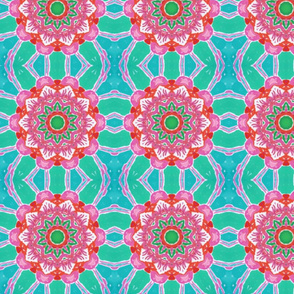 flamingo for Kaleidoscope Quilt