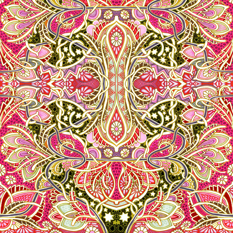 Victorian Excess fabric by edsel2084 on Spoonflower - custom fabric