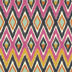 Sequoyah Tribal Ikat