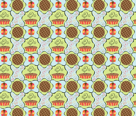 Pie Time fabric by brendazapotosky on Spoonflower - custom fabric