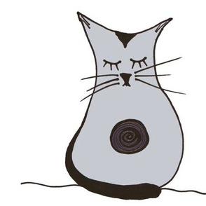 Ohm Kitty on White