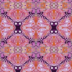 Purple Midnight Sky Daisy Nouveau