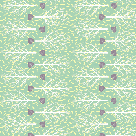 raining leaves fabric by keweenawchris on Spoonflower - custom fabric