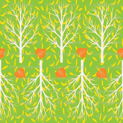 leaf tracks