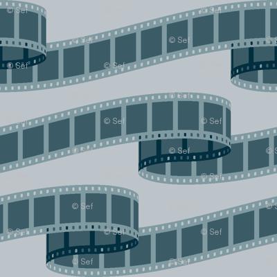35mm film noir ribbon