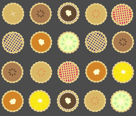 PIE-01 fabric by wysedesigns on Spoonflower - custom fabric