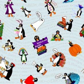 Penguins for All Seasons Medallions