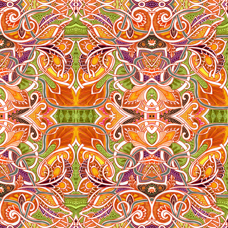 Autumn Arrives In Vermont fabric by edsel2084 on Spoonflower - custom fabric