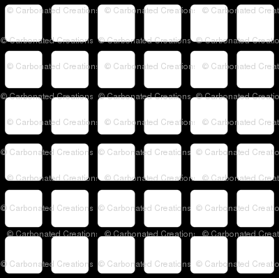 Inversed Rounded Square Dots