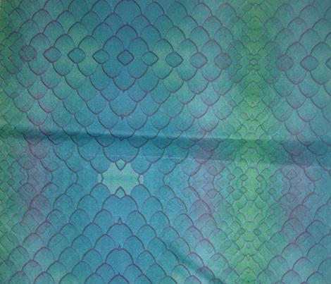 snake blue