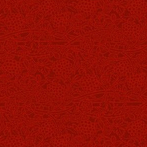 Turkey Red Concord Brocade