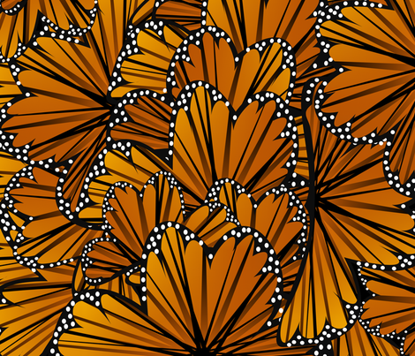 Flutter By Monarchy fabric by lowa84 on Spoonflower - custom fabric