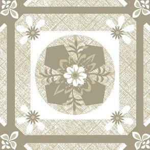 Moroccan tile / mushroom