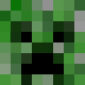 Creeper Head Check Child Life Size Squares