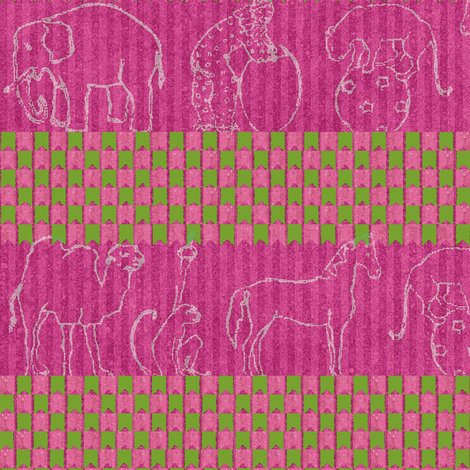 Circus stripe fabric by materialsgirl on Spoonflower - custom fabric