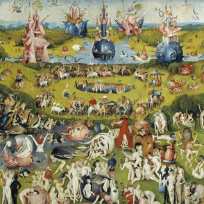 The Garden of Earthly Delights - Center panel (Hieronymus Bosh, 1510)