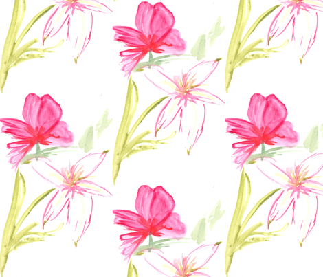 watercolor fabric by kerrysteele on Spoonflower - custom fabric