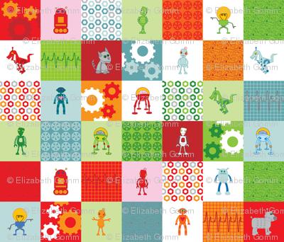 Robot squares
