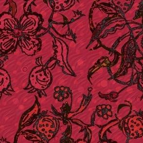 Red Pomegranites