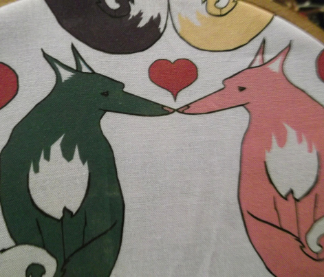 Rainbow Foxes in Love